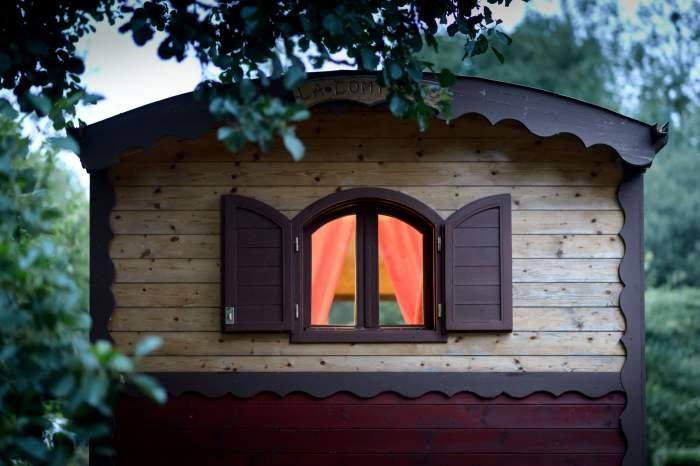 Roulotte Rives Nature Cottages et Camping en Bretagne